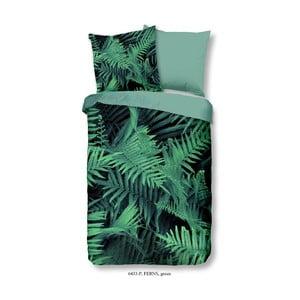 Bavlnené posteľné obliečky Muller Textiels Ferns, 140×200 cm