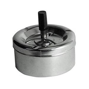 Popolník z chrómu Premier Housewares Spinning Ash, ⌀ 11 cm