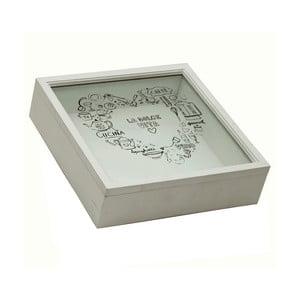Biely úložný box do kuchyne Bolzonella