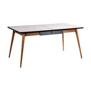Rozkladací jedálenský stôl z dreva mindi VICAL HOME Skien