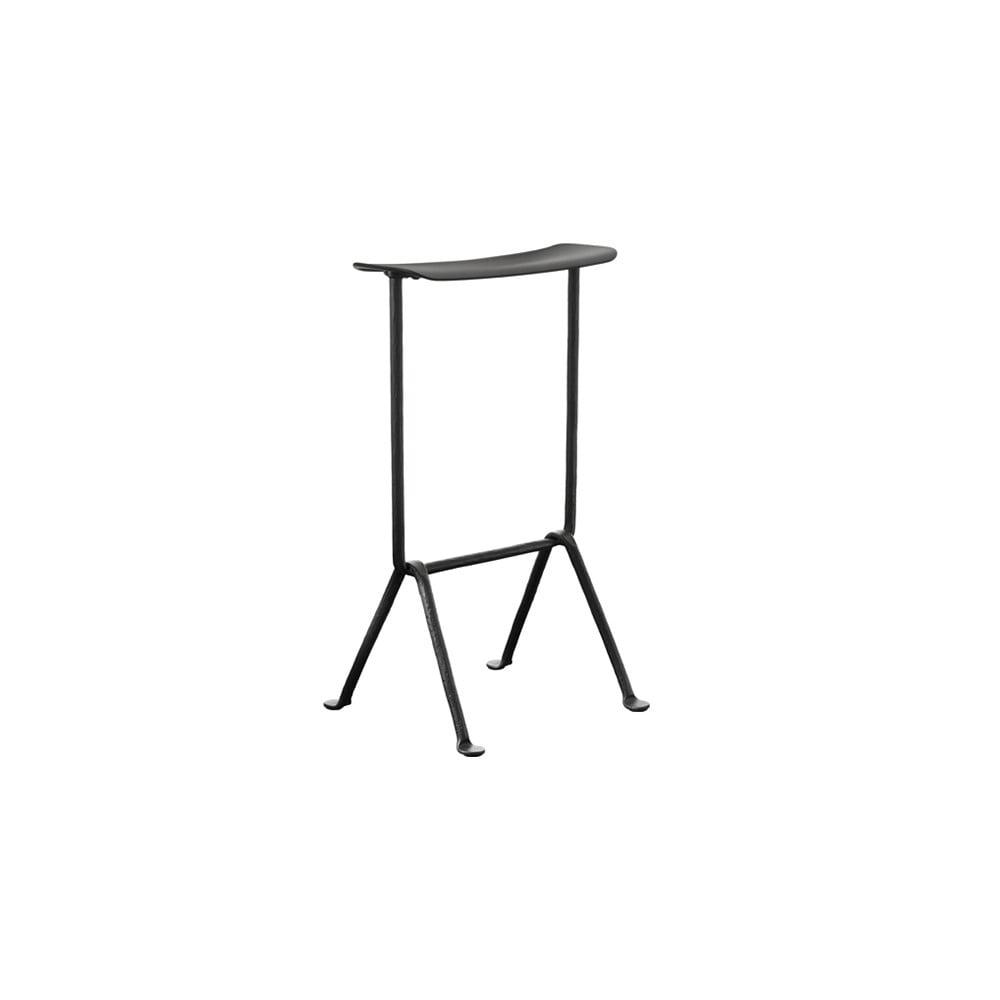 Čierna barová stolička Magis Officina, výška 65 cm
