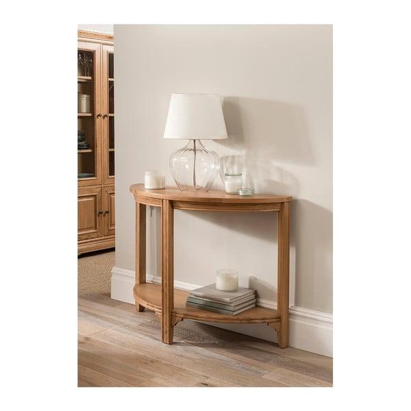 Konzolový stolík z dubového dreva VIDA Living Carmen