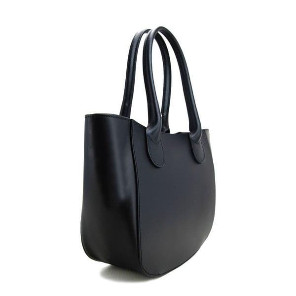 Kožená kabelka Filena Nero