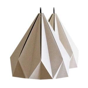 Origamica luster Spring Light For Two Elegant Grey
