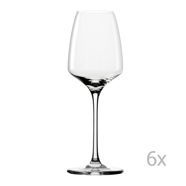 Set 6 pohárov Experience White Wine, 285ml