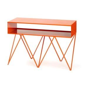 Oranžový príručný stolík &New Robot Too