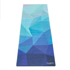 Podložka na jogu Yoga Design Lab Commuter Lapis, 1,3 kg