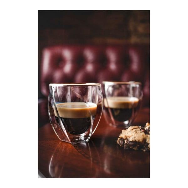 Sada 2 dvojitých pohárov Vialli Design Lora, 250ml