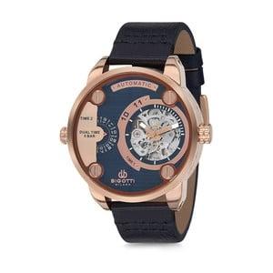 Pánske hodinky s koženým remienkom Bigotti Milano Oceania