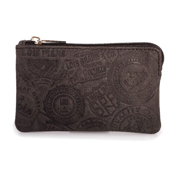 Kožená peňaženka na mince Lois Brownie, 11x6,5 cm
