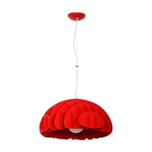 Červené závesné svietidlo Glimte Overhung Mak Red