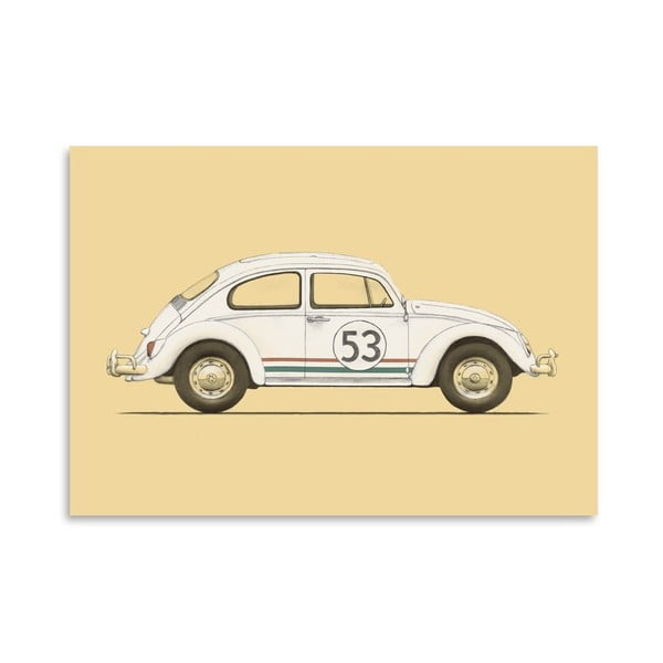 Plagát Beetle od Florenta Bodart, 30x42 cm