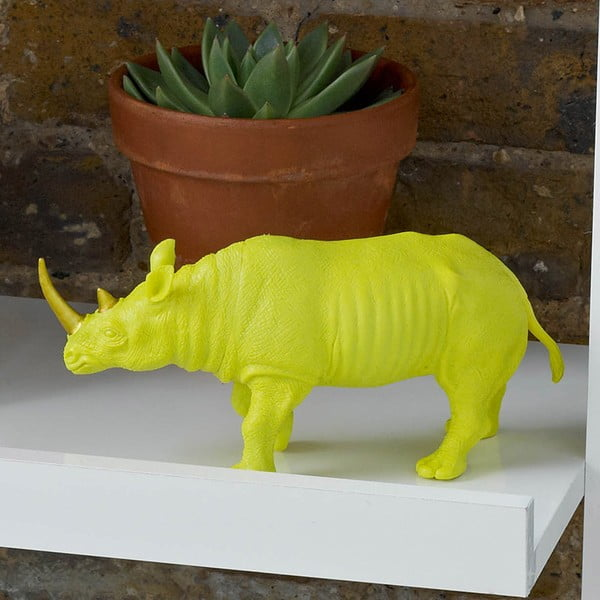 Dekorácia v tvare nosorožca Talking Tables Fantastic Summer