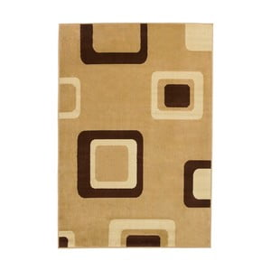 Béžový koberec Think Rugs Diamond, 120×170cm
