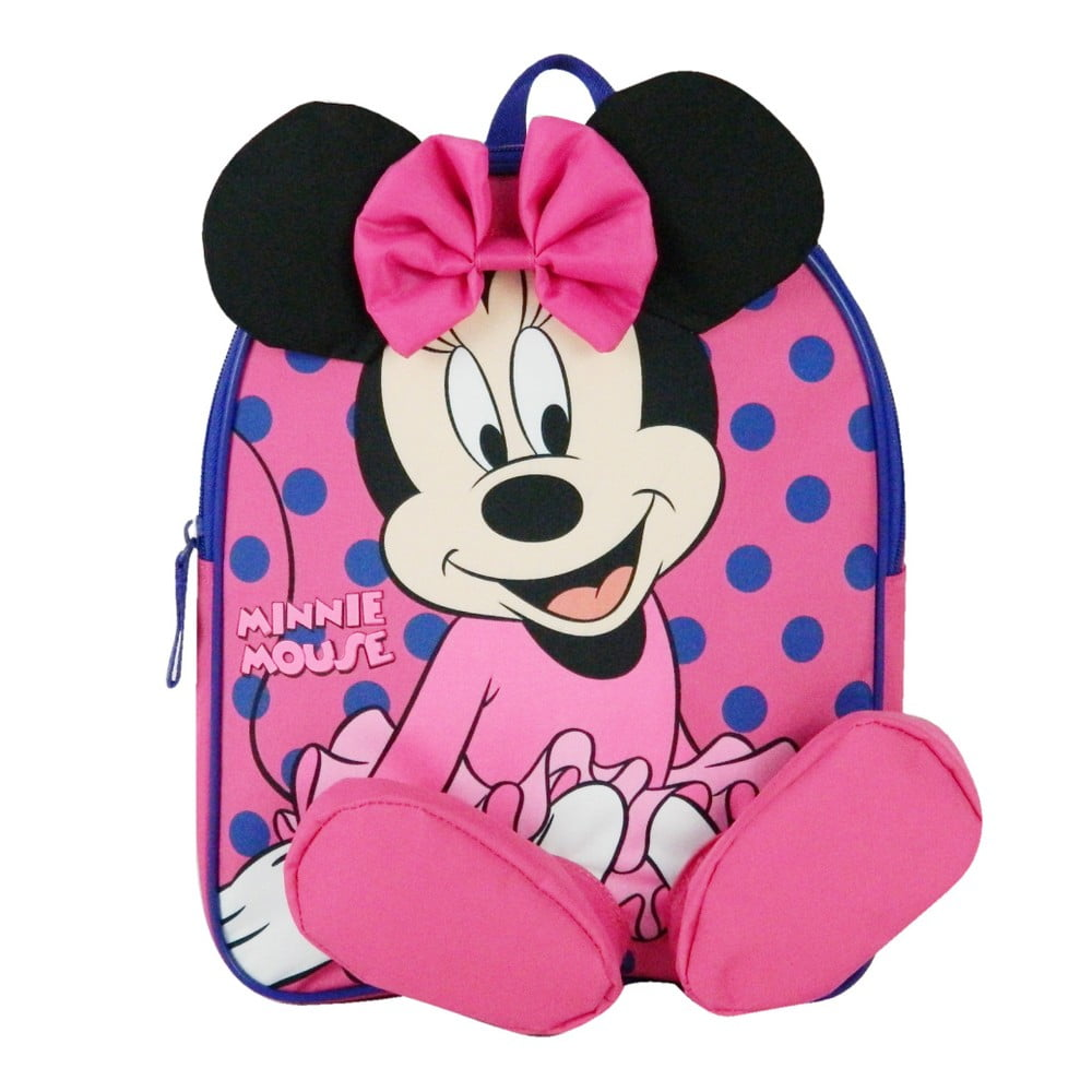 Ružový školský batoh Bagtrotter Minie