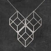 Náhrdelník Plato Silver z kolekcie Geometry