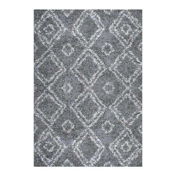 Koberec nuLOOM Zuzlo Grey,160x228cm