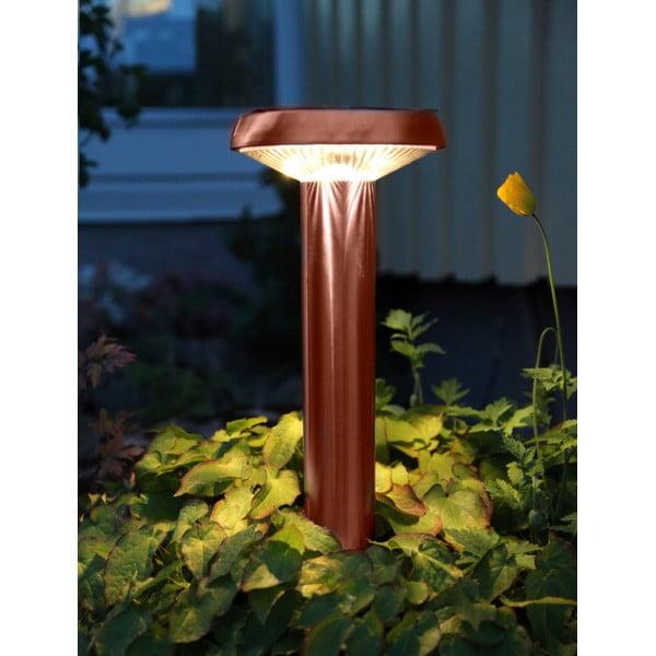 Záhradné svetlo Solar Energy Path Light Umbrella Rose