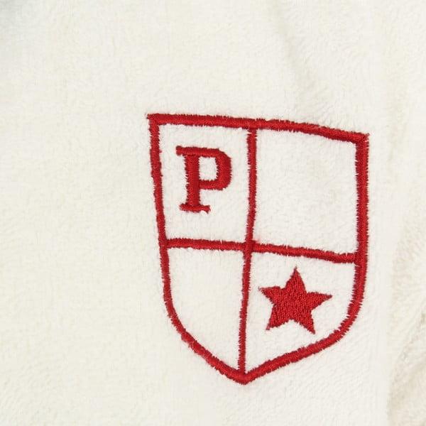 Biela sada pánskeho župana a 2 uterákov U.S. Polo Assn Nebraska, veľ. S/M