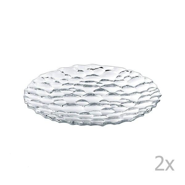 Sada 2 dezertných tanierov Sphere,23cm