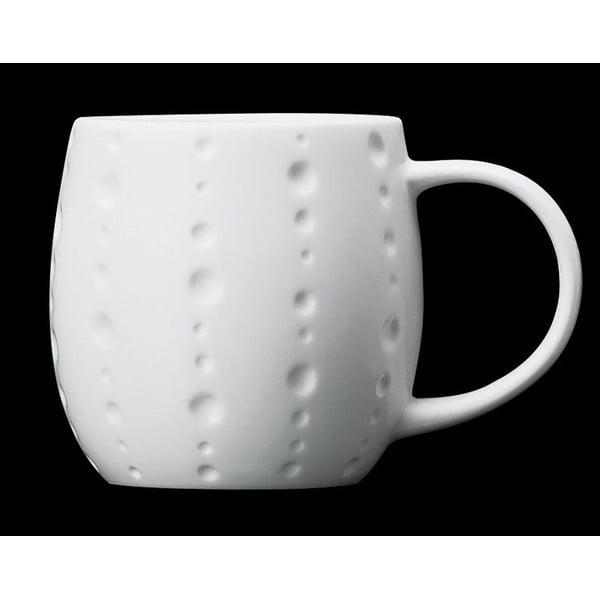Hrnček z kostného porcelánu Plum Bubble