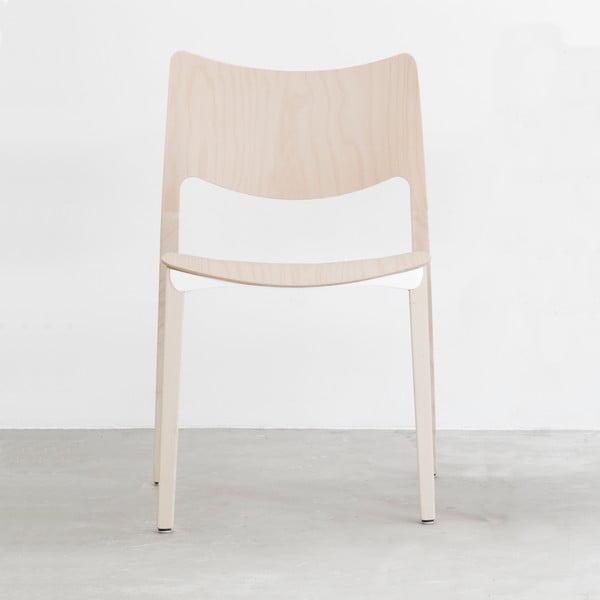 Stolička z prírodného jaseňového dreva Stua Laclasica
