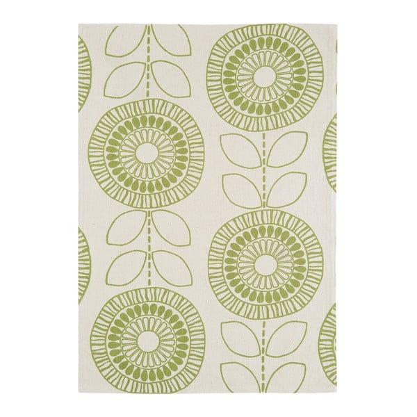 Koberex Onix Flower Green, 120x170 cm