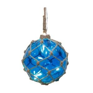 Svietiaca dekorácia Noah Blue, 14 cm