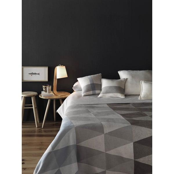 Sivá deka Euromant Pisa, 140 x 180 cm