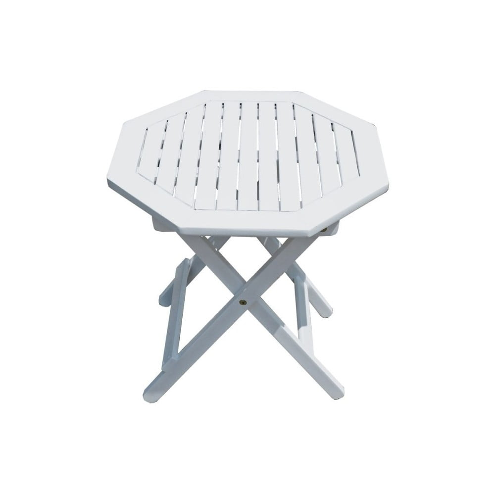 Záhradný skladací stolík z eukalyptového dreva ADDU Glendale