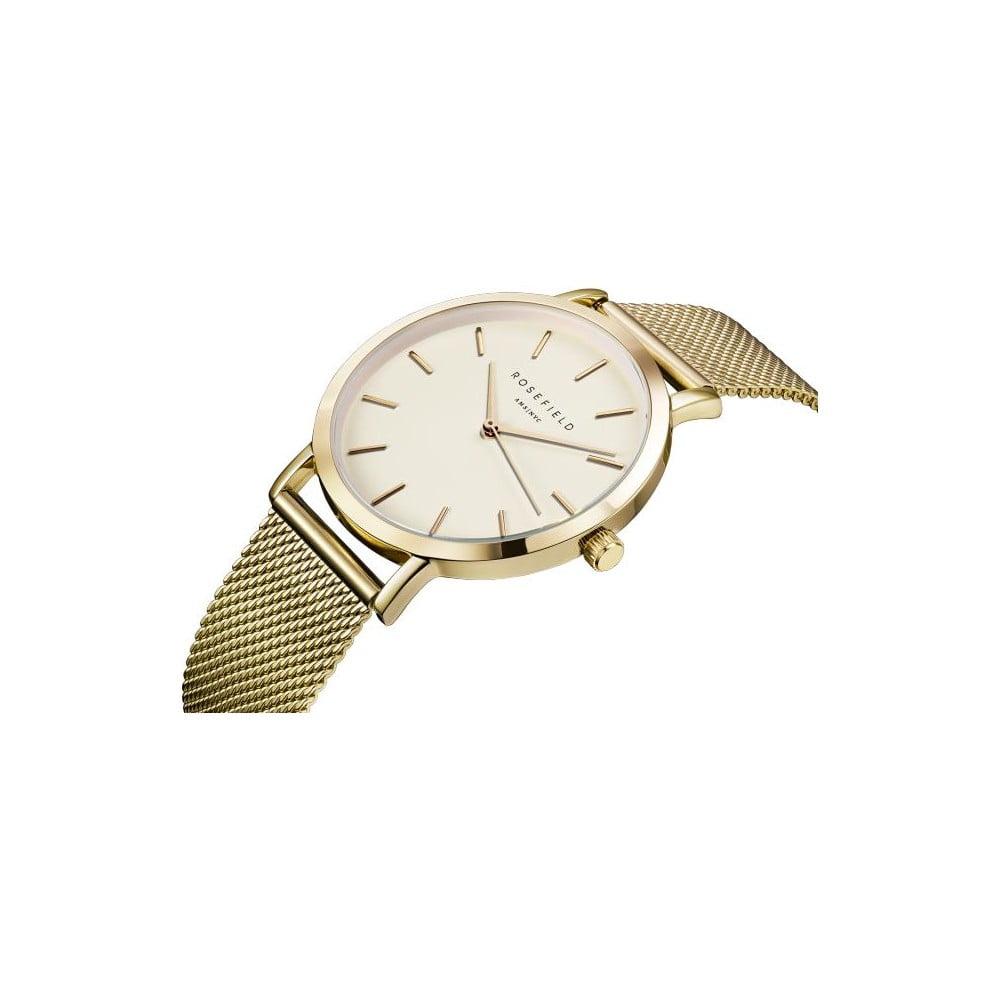 62c9440c3 Bielo-zlaté dámske hodinky Rosefield The Mercer | Bonami