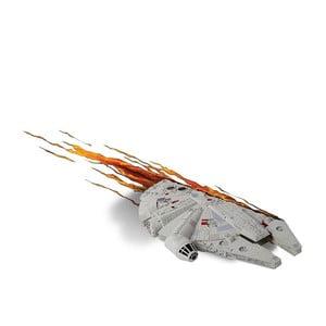 Nástenné svetlo s nálepkou Tnet Millennium Falcon