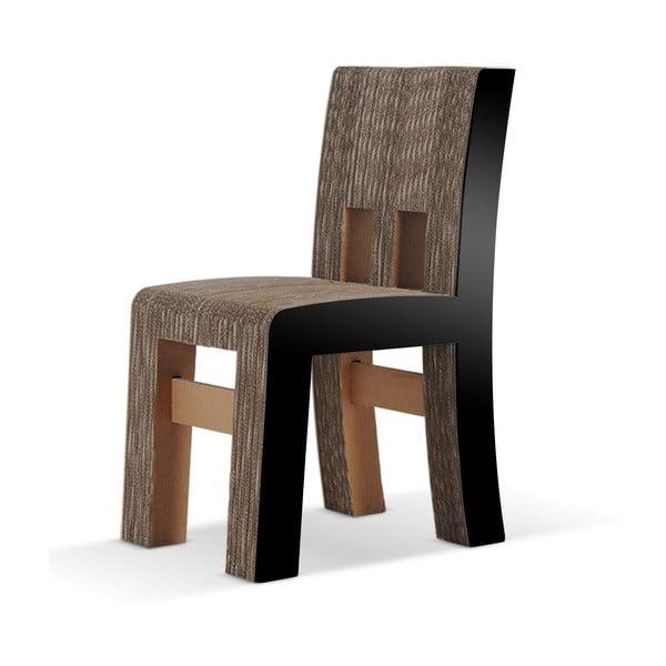 Kartónová stolička Campagnola Black