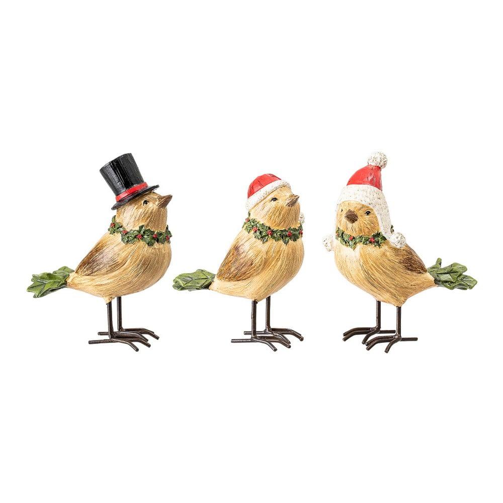 Sada 3 vianočných dekorácií na stôl Bloomingville Deco