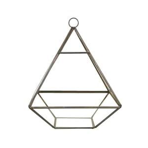 Závesný kvetináč Sass & Belle Black Pyramid