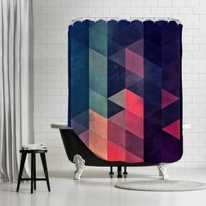 Kúpeľňový záves Geometric, 180x180 cm