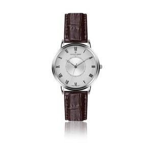 Pánske hodinky s koženým remienkom Frederic Graff Silver Grand Combine Croco Brown Leather