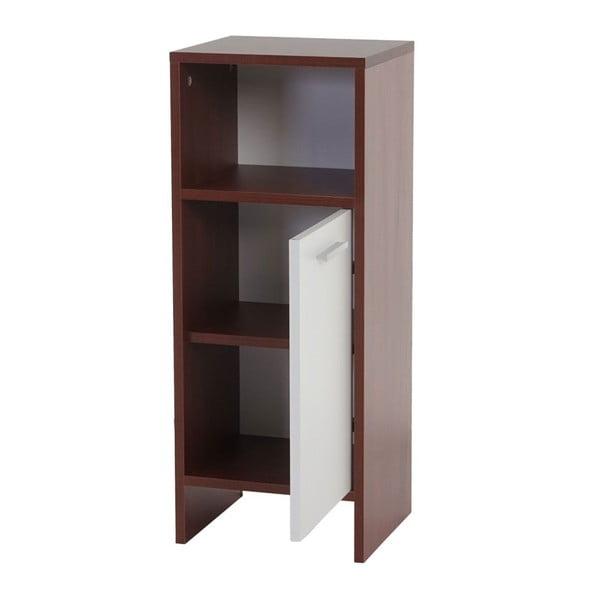 Kupeľňová skrinka Sonoma Brown/White, 28x32x82 cm