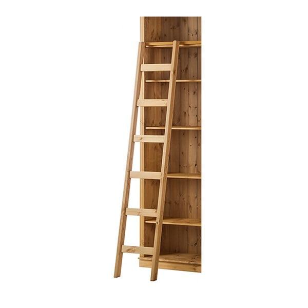 Hnedý dekoratívny rebrík z borovicového dreva Støraa Annabelle