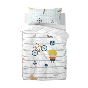 Detské obliečky z čistej bavlny Happynois Sailor, 100×120 cm