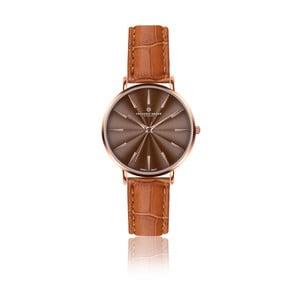 Dámske hodinky s koňakovohnedým remienkom z pravej kože Frederic Graff Rose Monte Rosa Croco Ginger