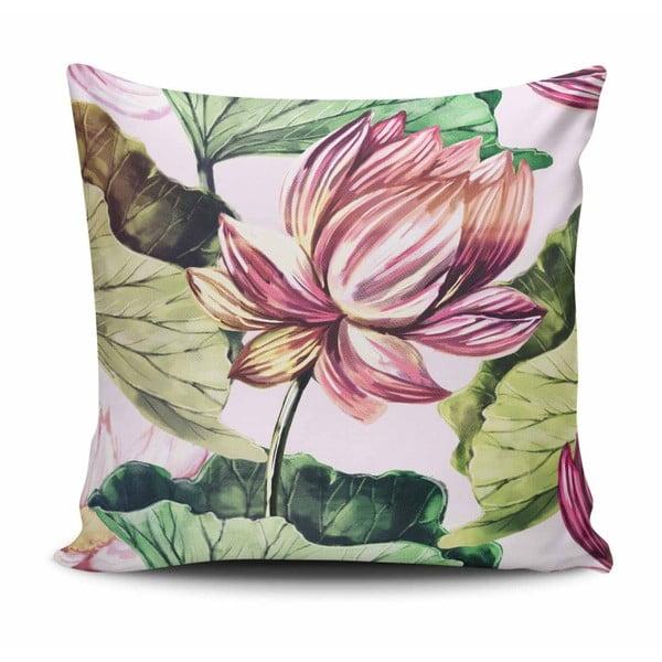Vankúš s prímesou bavlny Cushion Love Lutire, 45 × 45 cm