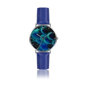 Dámske hodinky s modrým remienkom z pravej kože Emily Westwood Dreamy