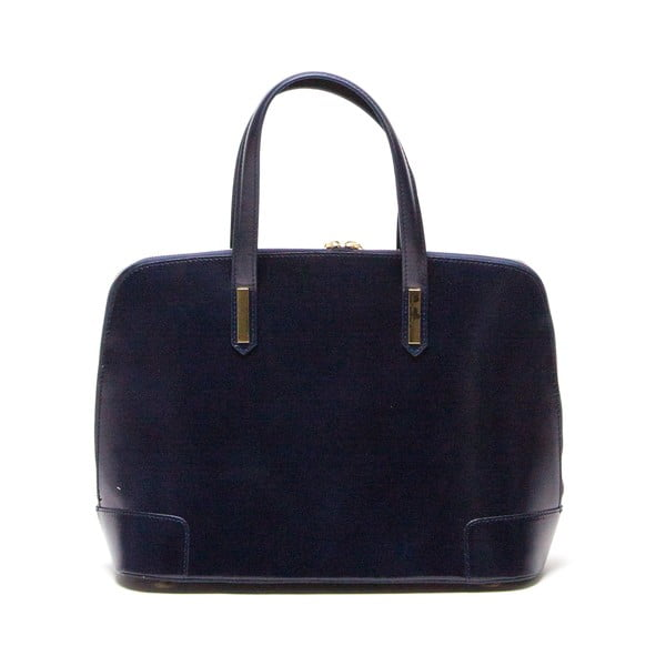 Kožená kabelka Luisa Vannini 364 Blu