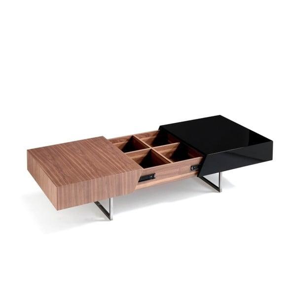 Rozkladací konferenčný stolík z orechového dreva Ángel Cerdá Arnaldo