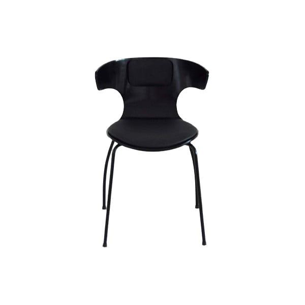 Sada 4 čiernych stoličiek RGE Cobra