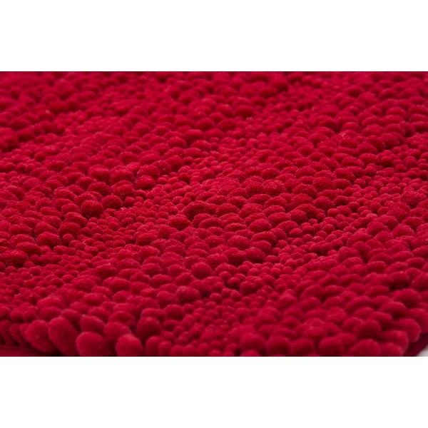 Kúpeľňová predložka Surface Bordeaux, 65x110 cm