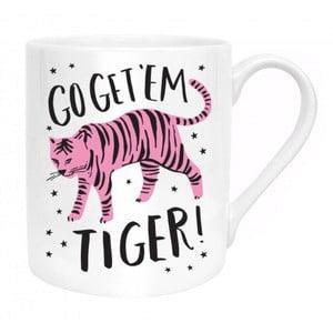Hrnček z kostného porcelánu Ohh Deer Go Get Them Tiger, 325 ml