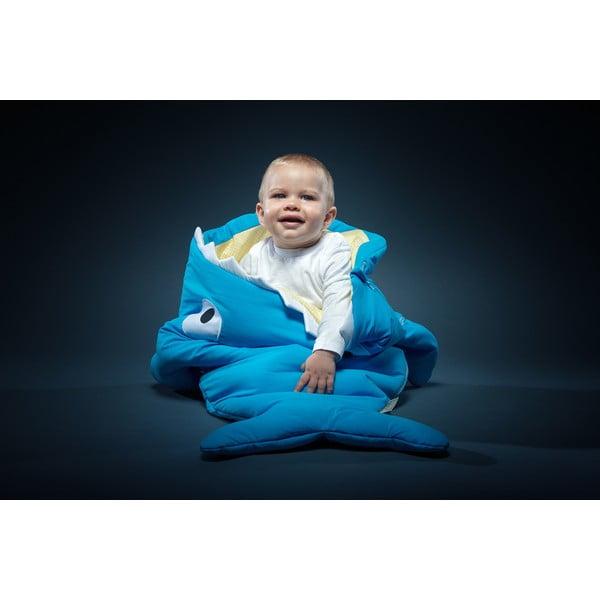 Detský vak na spanie Blue Vichy, vhodné i na teplé dni