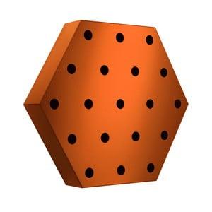 Stojan na víno Hexagon Maxi, oranžový